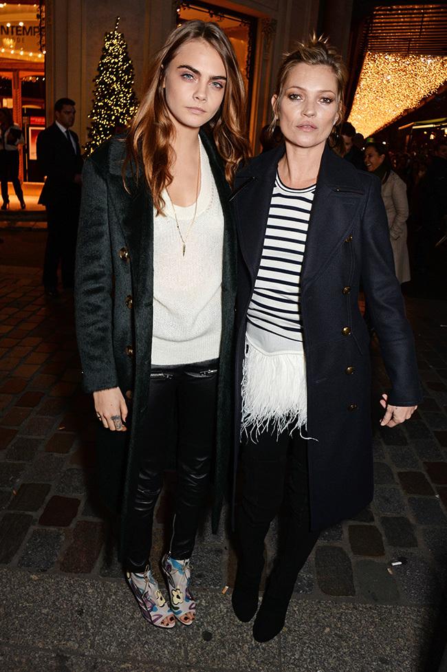 Foto de Kate Moss y Cara Delevingne ya piensan en Navidad (2/19)