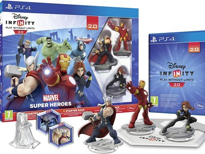 Disney Infinity 2.0: Marvel Super Heroes PS4 por 23,73 euros