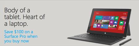 Microsoft rebaja el precio de la Surface Pro este mes en Estados Unidos
