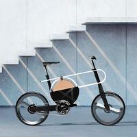 GEO es un llamativo y futurista concepto de bicicleta eléctrica lleno de curvas y sin manetas de frenos