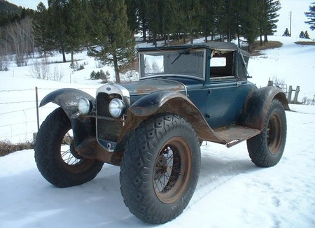 Ford Model A 3 650