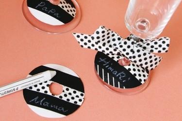 Decora tu mesa con Washi Tape para el Día de la Madre