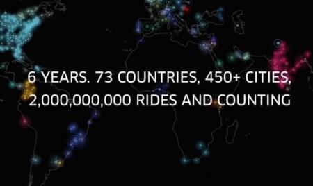 Uber ya presume de haber hecho 2.000 millones de viajes