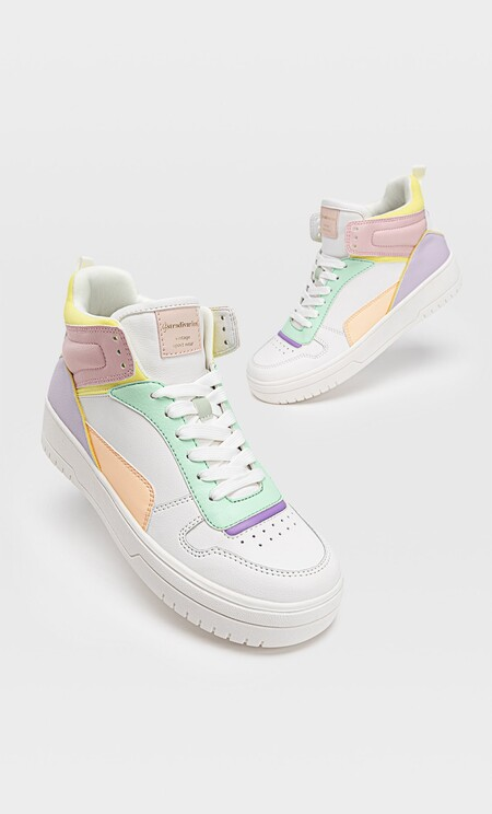 Stradivarius Sneakers Colores 2021 01