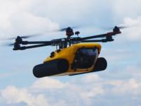 El drone que vuela y también navega existe, y es el HexH2o