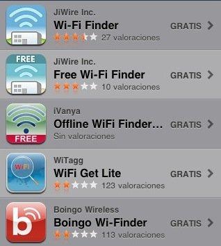 Aplicaciones viajeras para el iPhone: buscadores de wifi gratis