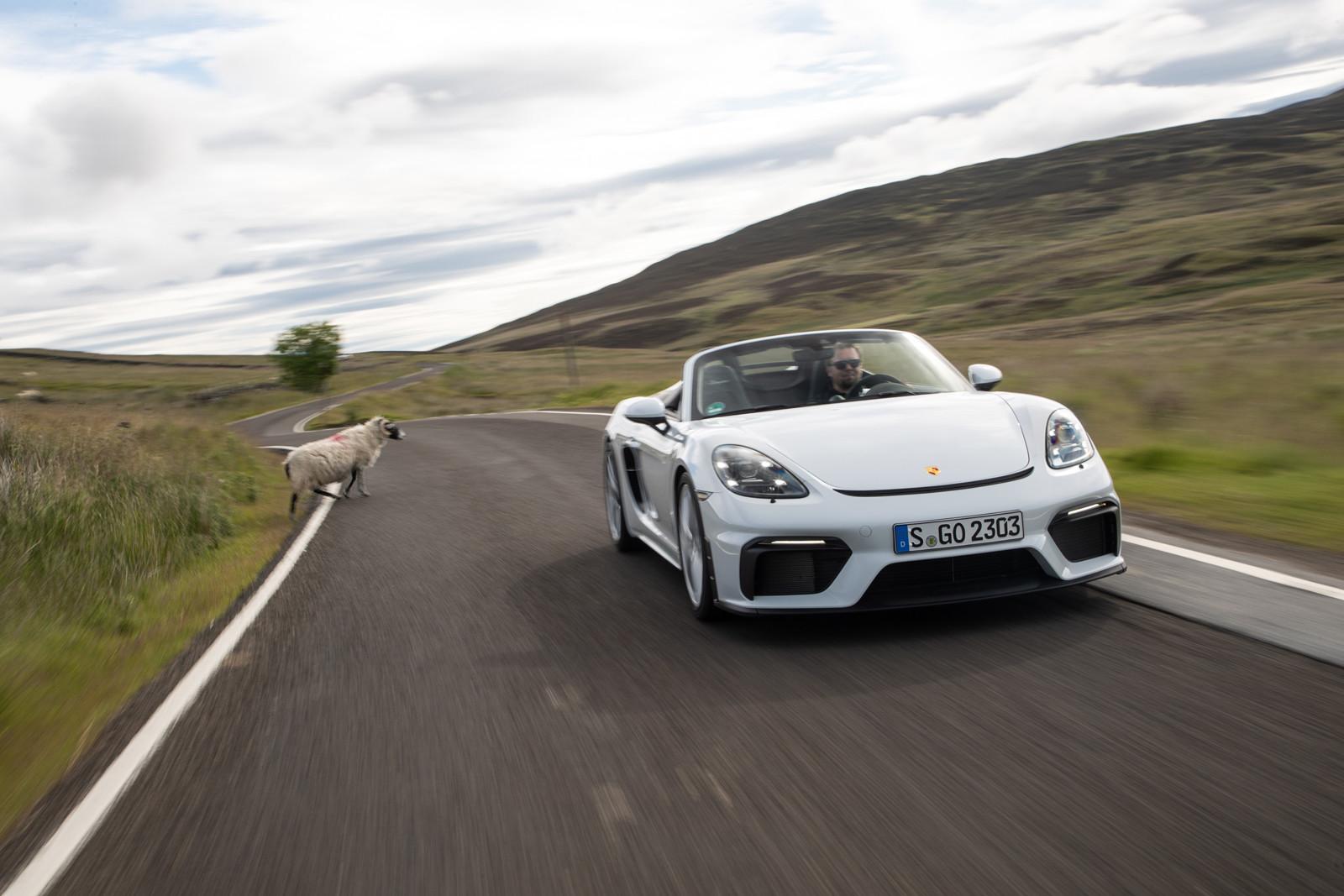 Foto de Porsche 718 Spyder (prueba contacto) (19/296)
