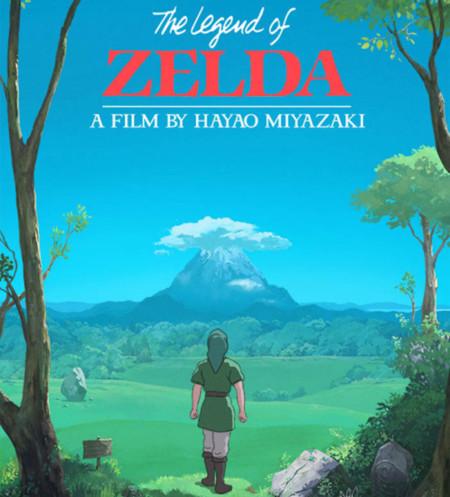 ¿Cómo sería una película de 'The Legend of Zelda' si estuviese a cargo del Studio Ghibli?