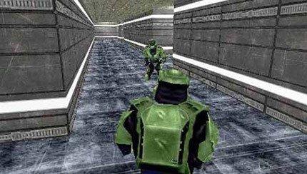 Halo para PSP en un juego hecho por la scene