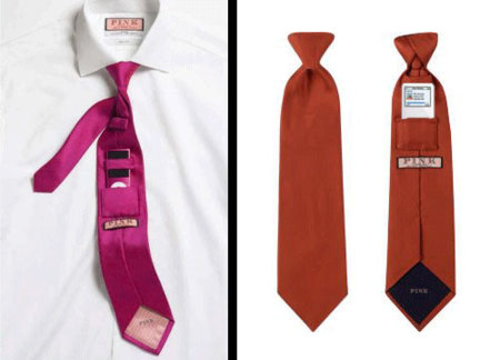 Thomas Pink diseña una corbata con bolsillo para el iPod