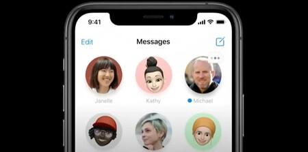Mensajes iOS 14