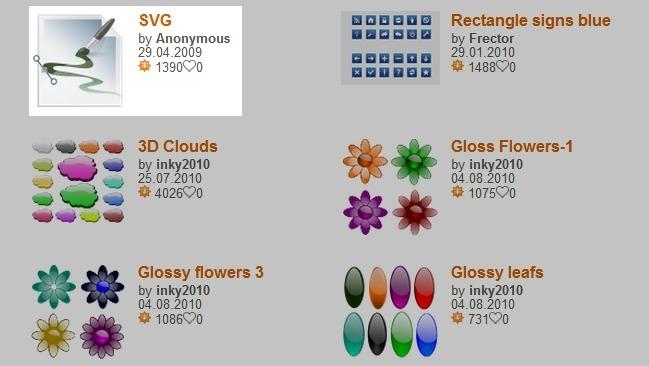 Imágenes vectoriales gratis y libres: cinco sitios para descargar