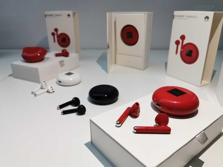 Los Huawei Freebuds 3 llegan a España en color rojo