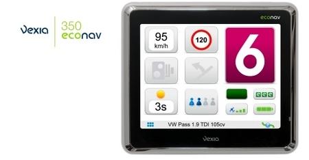 Vexia Econav, GPS para ahorrar combustible