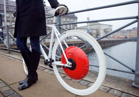 Copenhaguen Wheel MIT SENSEable City Lab