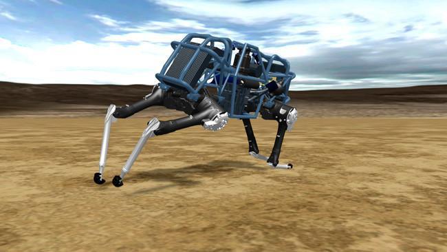 WildCat, robot cuadrúpedo de Boston Dynamics capaz de correr a velocidades de 25 Km/h