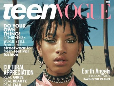 Willow Smith, una personalidad arrolladora difícil de encasillar en portada de la revista Teen Vogue de mayo
