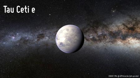 Exoplanet Tau Ceti E Phl