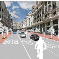 Olvídate de conducir por la Gran Vía de Madrid: en 2018 será (casi) para peatones y ciclistas