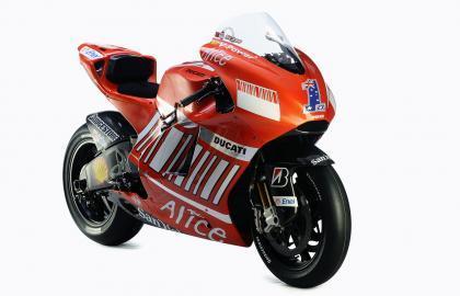 Galería de imágenes de la nueva Ducati Desmosedici GP8