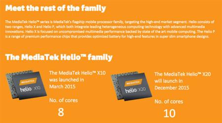 Mediatek Helio Family