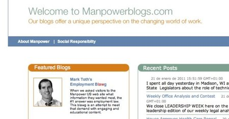 Manpower Blog