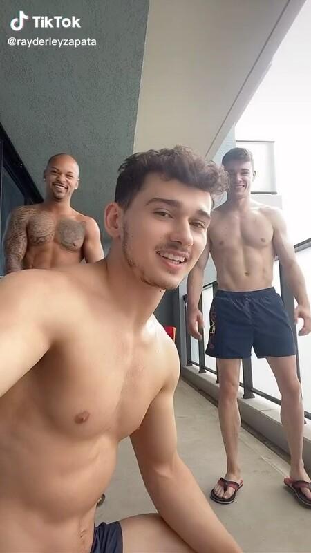 El equipo masculino de gimnasia artística en los Juegos Olímpicos incendia las redes con este Tiktok-io: Así son Nicolau Mir, Ray Zapata y Joel Plata