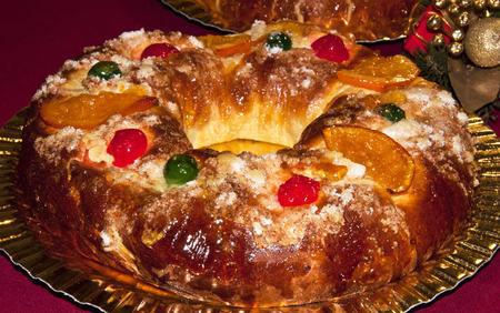 Roscón de Reyes clásico