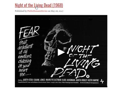 En esta web puedes ver docenas de películas clásicas totalmente gratis