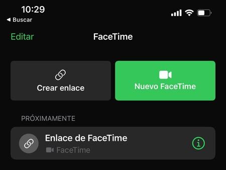 Facetime Enlace Ios 15
