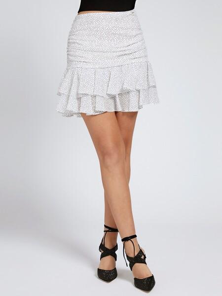 Falda Estampado Microlunares