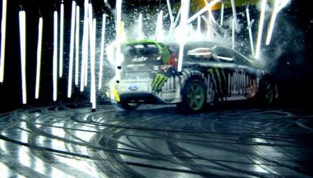 Gymkhana 3 Primera parte: Ken Block y su Ford Fiesta en un video musical