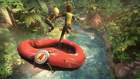 El primer accesorio para Kinect es un bote hinchable. Increíble pero cierto