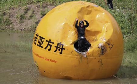 El arca de Noé china, una cápsula para sobrevivir 10 meses