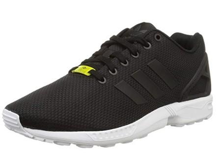 Chollo en Amazon: zapatillas deportivas Adidas ZX Flux en negro por sólo 32,95 euros con envío gratis