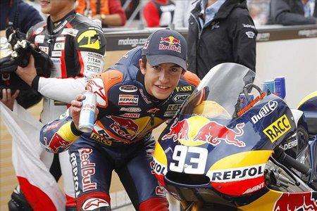 MotoGP Alemania 2010: Otro triunfo para Marc Márquez antes de las vacaciones en una deslucida carrera de 125