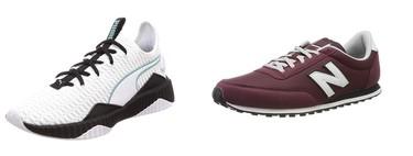 Kappa, Under Armour, Puma, Mustang y New Balance: 5 chollos en tallas sueltas de zapatillas en Amazon