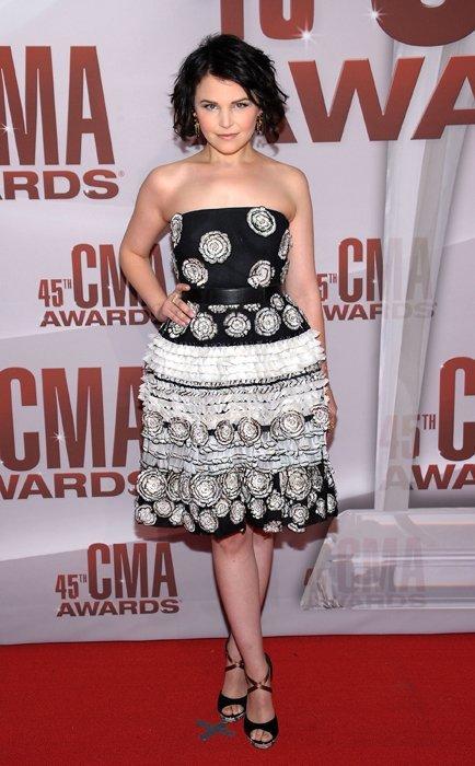Ginnifer Godwin CMA Awards 2011