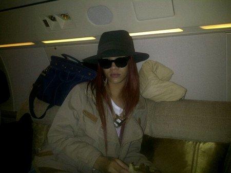 Rihanna Jet privado
