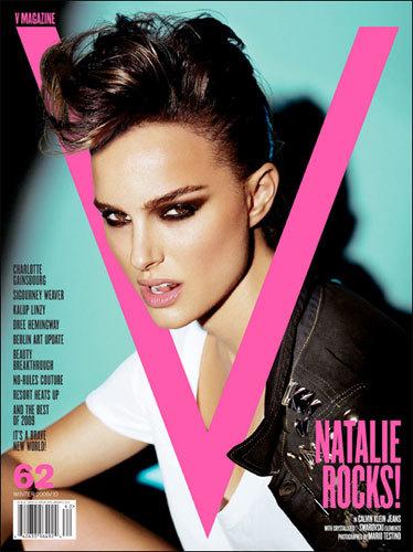 Natalie Portman super rockera en V Magazine
