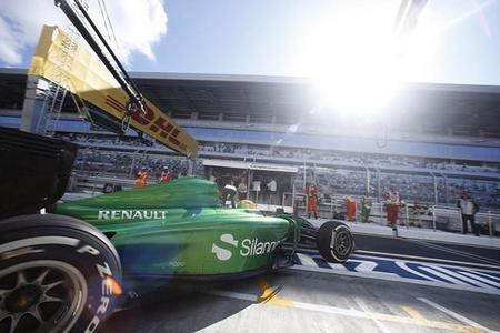 Caterham vuelve a pista: correrán en Abu Dhabi