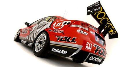 Holden Racing Team presenta nueva decoración en 2011 y nuevo piloto