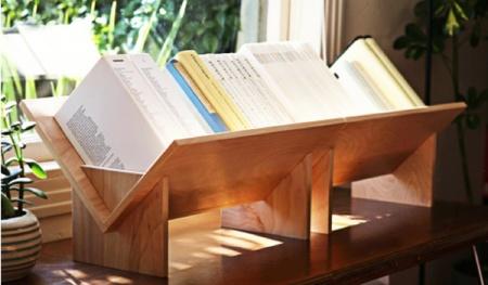 ¿Buena o mala idea?: una estantería de mesa
