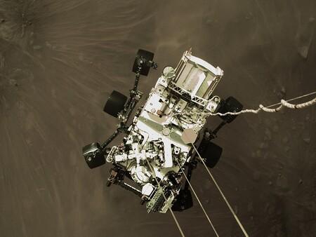 Esta es la capacidad de enfoque a corta distancia la cámara WATSON del rover Perseverance