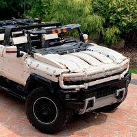 Alucina con esta propuesta de Hummer EV LEGO, con cuatro motores eléctricos y suspensión ajustable