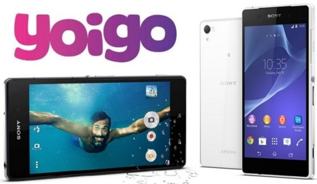 Precios Sony Xperia Z2 con Yoigo