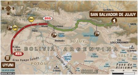 Mapa Etapa5 Dakar2016