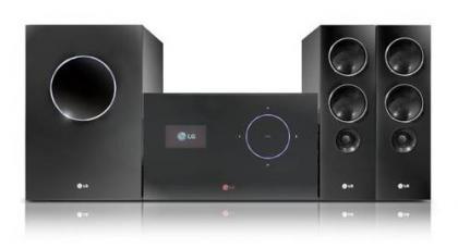 Sistema de cine en casa Chocolate de LG