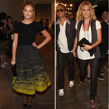 Más famosas en el front-row de la Semana de la Moda de Nueva York