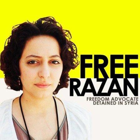 La bloguera siria Razan Ghazzawi ha sido liberada